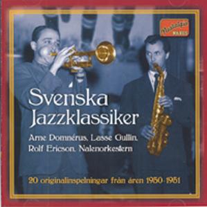 Omslag Svenska Jazzklassiker
