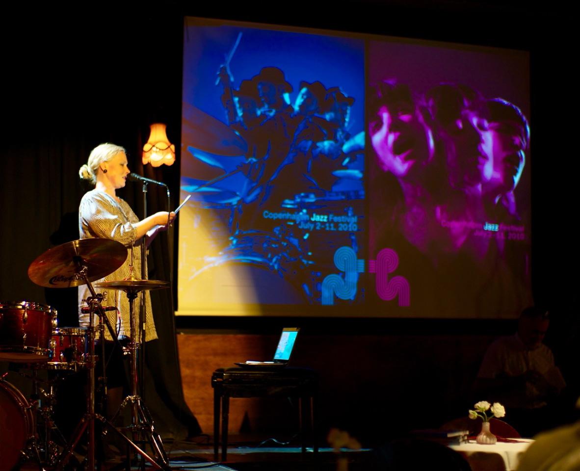 Presentation av programmet för Copenhagen Jazz Festival