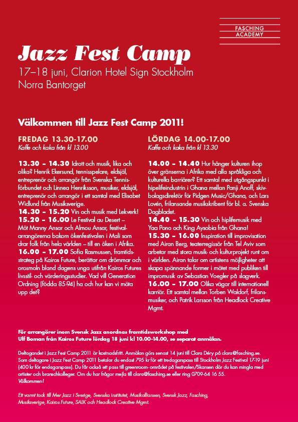 JazzFestCamp