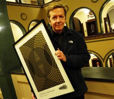 Dan Berglund får Skapstipendium till Evert Taubes minne