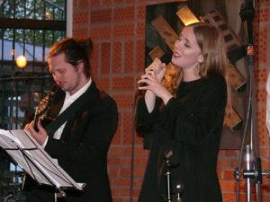 Anton Forsberg och Ellen Andersson. Foto: Tor-Björn Lyrhed