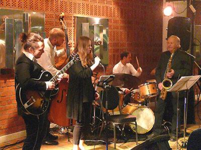 Ellen Andersson Quartet & Nisse Sandström. Foto: Tor-Björn Lyrhed