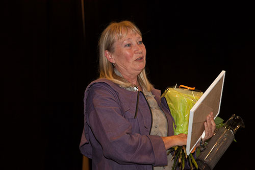 Susanna Lindeborg. Foto: Gösta Rising