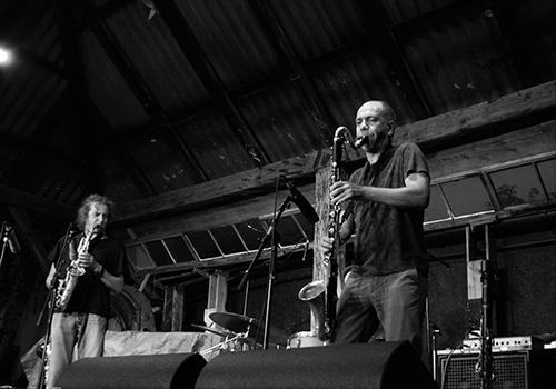 Alberto Popolla och Errico De Fabritiis från Roots Magic. Foto: Veronica Eriksson