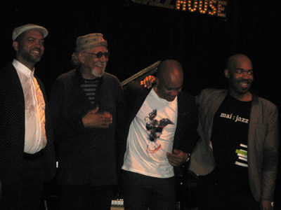 Charles Lloyd New Quartet. Foto: Patrik Sandberg