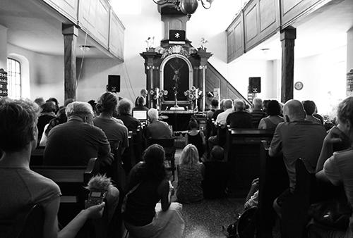 Evangelische Kirche. Foto: Veronica Eriksson