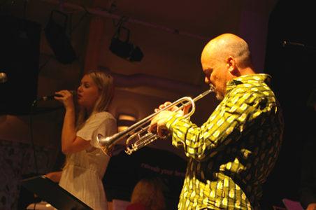 Iris och Anders Bergcrantz. Foto: L'Jazz