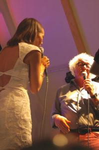 Isabella Lundgren och Claes Jansson. Foto: L'Jazz