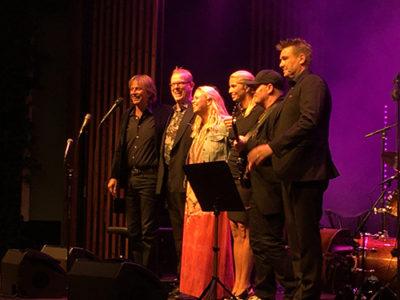 Jan Lundgren Trio med Hannah Svensson, Victoria Tolstoy och Ulf Wakenius. Foto: Jan Backenroth