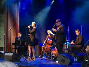 Jan Lundgren Trio med Victoria Tolstoy och Ulf Wakenius. Foto: Jan Backenroth