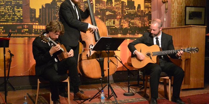 Gustav Lundgren Trio. Foto: Anders Olofsson