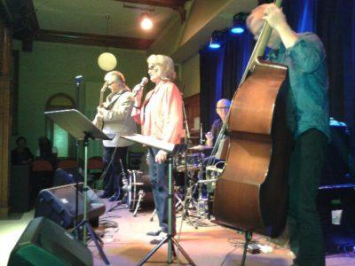 Karin Krog med Trio. Foto: Roger Bergner