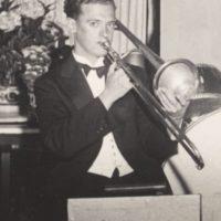 """Fernström, Åke """"Krullet"""" – trombonist, violinist"""