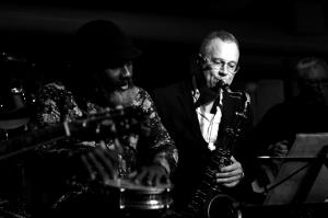 Hans Ulrik ts, ss, Ayi Solomon v, percussion.