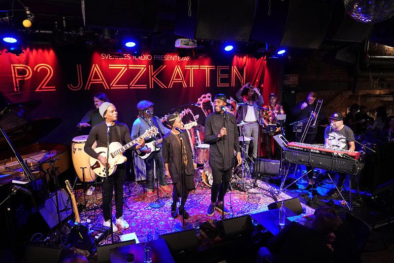 Blacknuss på P2 Jazzkatten/Fasching
