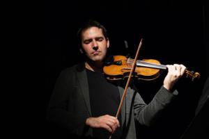 Dawid Lubowicz (Atom String Quartet) på Teaterstudio Lederman