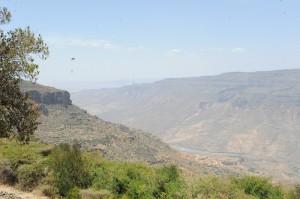 Tio mil norr om Addis Abeba