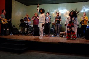 Konsert med bland andra Melaku Belay