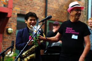 Yosuke Sato meets Jacob Fischer New Generation Quartet