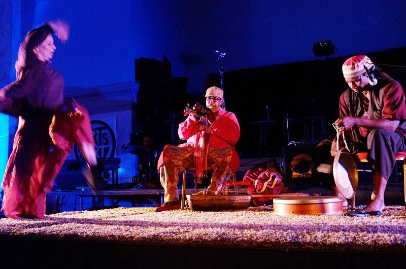 Öppningsceremoni med Patricia Nicholson, William Parker och Hamid Drake