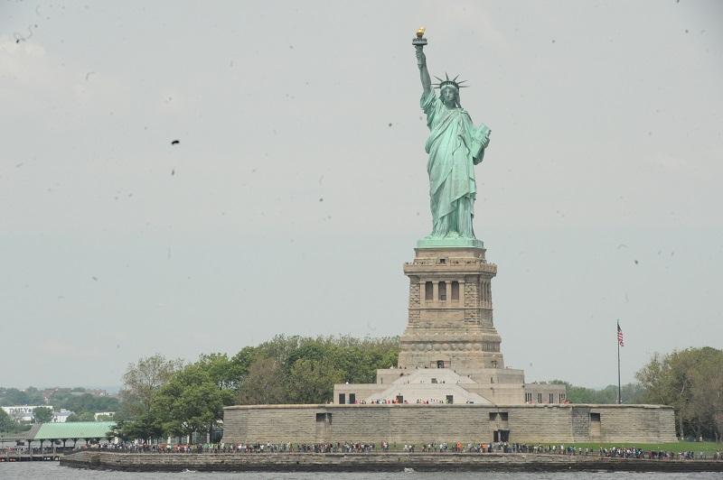 Frihetsgudinnan från Staten Island-färjan