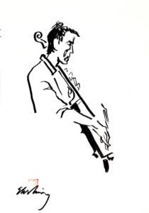 Gästen Leo Svensson (cello)