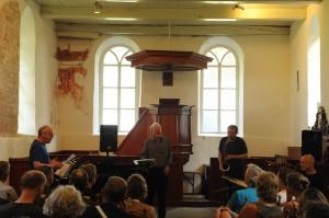 Phil Minton Quartet. Foto: Lars Jönsson